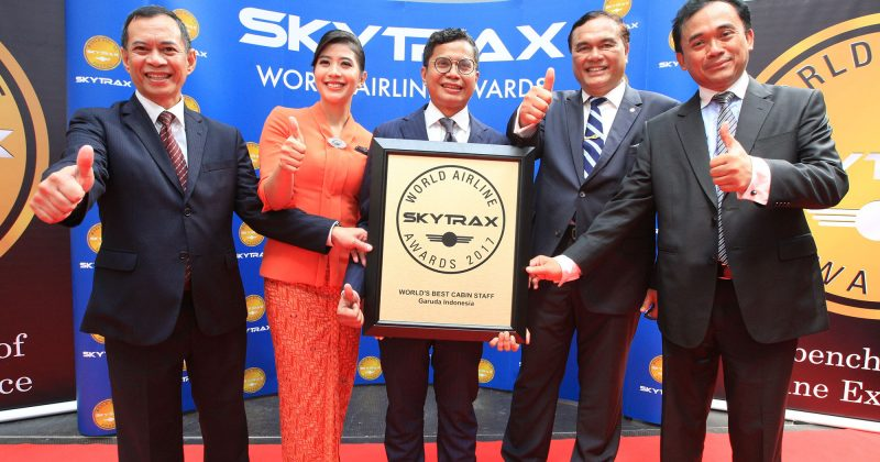 Best Cabin Staff & Top 10 World Airline, Garuda Indonesia