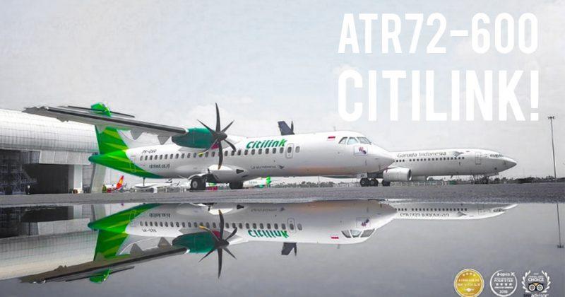 Armada Baru Citilink, ATR72-600!