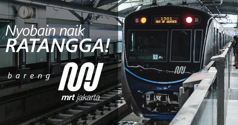 Nyobain MRT Jakarta!