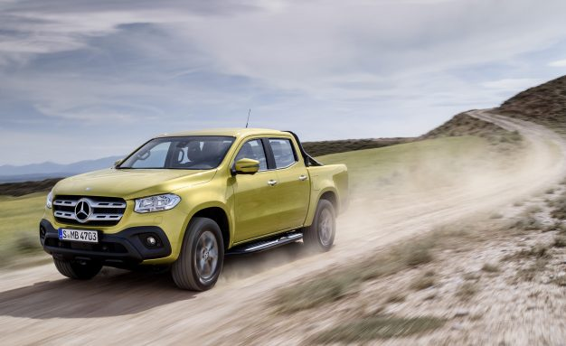 Launching Mercedes-Benz X-Class Pick-Up Truck